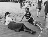 1898 - Instructor and bather, Midland Beach, Staten Island