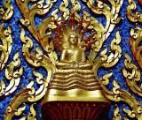 Image of the Buddha with nine-headed naga (sacred serpent)