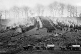 March 1862 - The 150th Pennsylvania Infantry camp