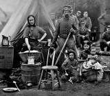 1861 - Domestic camp life