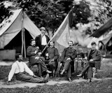 April 1862 - Union officers before the Battle of Shiloh