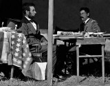 October 1862 - President Lincoln with General McClellan