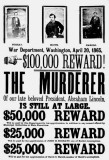 April 1865 - Wanted poster