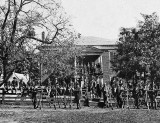April 1865 - Union soldiers outside court house