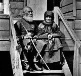 Old Cossack couple