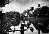 1897 - Near a hospital-church