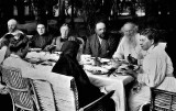 c. 1905 - Tolstoy and family at Yasnaya Polyana