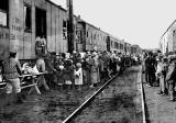 1921 - 1st  American food shipments arriving