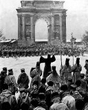 Bloody Sunday, Jan. 1905 - Father Gapon leading unarmed workers...