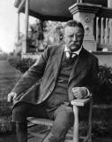 1917 - Former US President Teddy Roosevelt