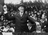 1916 - President Wilson throwing out the 1st baseball of the season