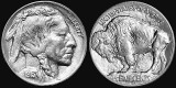1913 - Buffalo nickel designed and first minted
