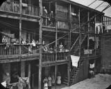 1890 - Tenements, Gold Street, Brooklyn