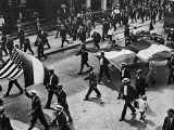 1914 - Pro-Germany march in Chicago, USA