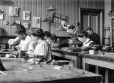 1890's - Pottery class at Pratt Institute, Brooklyn