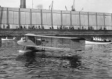 c. 1918 - The Burgess Seaplane, used by the NY Naval Militia