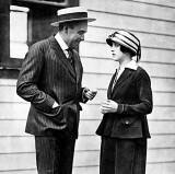 1915 - Mack Sennett and Mabel Normand