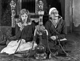 1921 - Harold Lloyd with his wife Mildred Davis