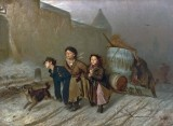 1866 - Troika (Apprentice workmen carrying water)