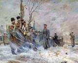 1917 - Nicholas II, having abdicated, bids farewell to his troops