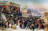 1869 - Festival on Pancake Week, St. Petersburg