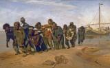 1870-1873 - Volga boatmen