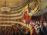 c. 1873 - Tsar Alexander II at the opera house