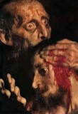 16 November 1581 - Ivan the Terrible killing his son (detail)