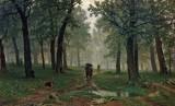 1891 - Rain in an Oak Forest