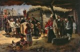 1888 - Easter Mass in the country
