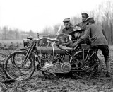 1917 - Motorcycle adopted for combat