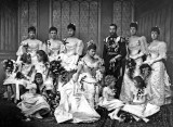 1893 - Wedding party of future King George V and Queen Mary