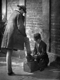 c. 1877 - Shoeshine boy
