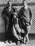 1922 - Douglas Fairbanks, Jackie Coogan, and Rudolph Valentino