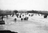Christmas 1894 -  River Thames frozen over