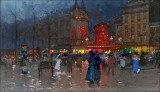 c. 1906 - The Moulin Rouge, Evening