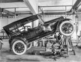 c. 1919 - Mechanic at work