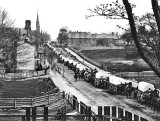 April 1865 - Federal army wagon train
