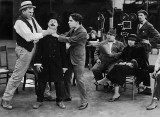 1918 - Chaplin directing in How to Make Movies