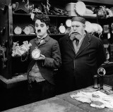 1916 - Charlie Chaplin and Henry Bergman in The Pawnshop