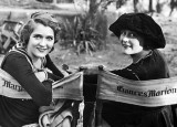 1917 - Mary Pickford with screenwriter Frances Marion