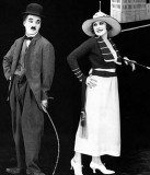 1918 - Charlie Chaplin and Edna Purviance