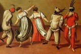c. 1550 - Commedia dell'arte characters, Italy