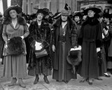 1917 - Woman suffrage pickets