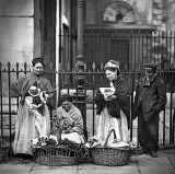 1877 - Flower sellers, Covent Garden