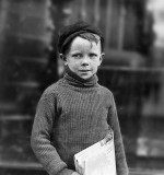 May 1910 - Newsboy, 8 years old
