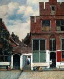 1657-58 - The Little Street, Delft, Holland
