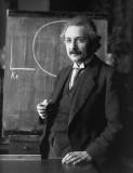1921 - Albert Einstein giving a lecture