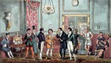 1821 - The Green Room at Drury Lane Theatre