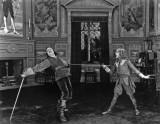 1921 - Mary Pickford having fun with new husband Douglas Fairbanks